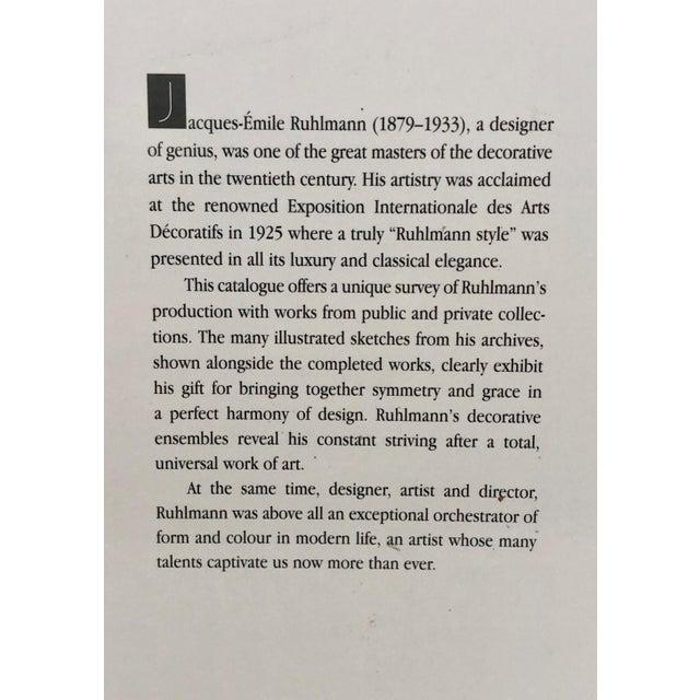 "Émile-Jacques Ruhlmann ""Ruhlmann: Genius of Art Deco"" Coffee Table Book For Sale - Image 4 of 9"