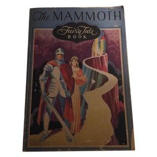 The Mammoth Fairy Tale Book 1929 Whitman Scarce