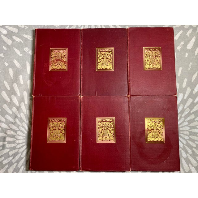 New York: Thomas Y. Crowell Company, 1898. Six attractive volumes, from the author's revised text, edited with...