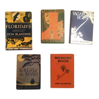 1930s Vintage Don Blanding Poetry Books - Set of 5 For Sale