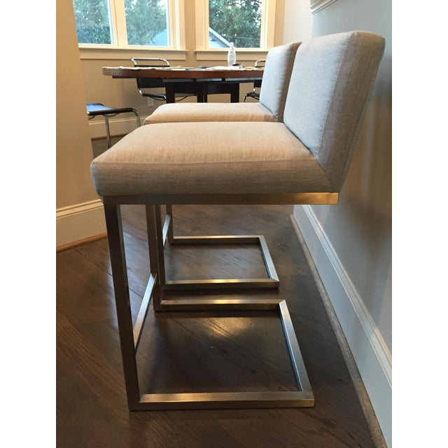 Room Board Lira Counter Stools A Pair Chairish