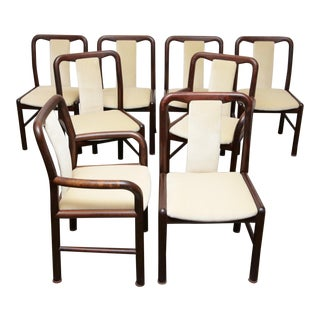 Niels Moller for Boltinge Danish Modern Rosewood Dining Chairs For Sale
