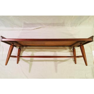 1950's Mid-Century Modern Willett Cherry Bench/Coffee Table Preview