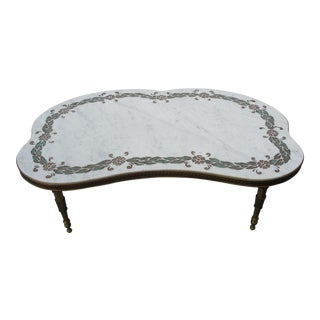 Early 20th Century Scagliola Coffee Table
