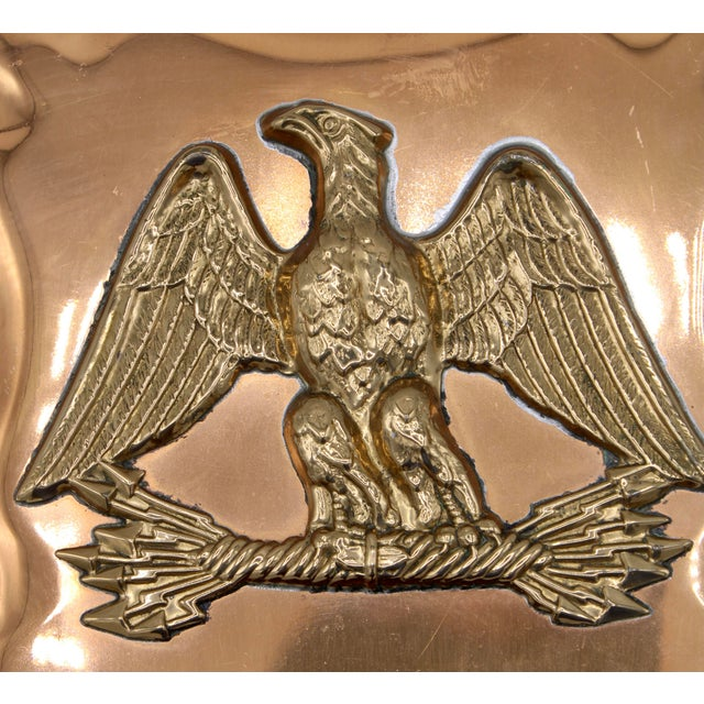 Vintage Federal Eagle Copper Mold Wall Mount For Sale - Image 11 of 12