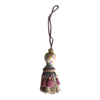 Mackenzie-Childs Porcelain Tassel Tie-Back