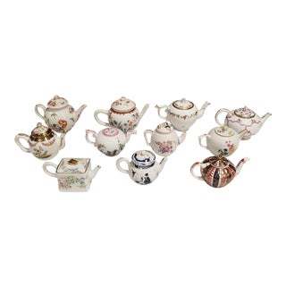 Victorian and Albert Tea Pot Collection For Sale