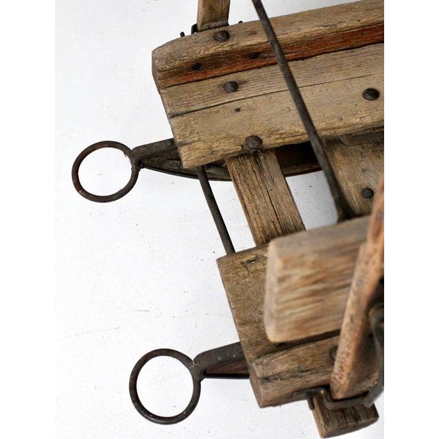 Antique Primitive Sled For Sale - Image 11 of 13