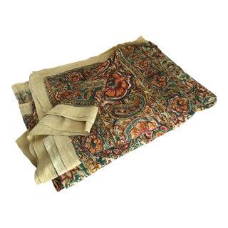 Boho Paisley Floral Cotton Fabric