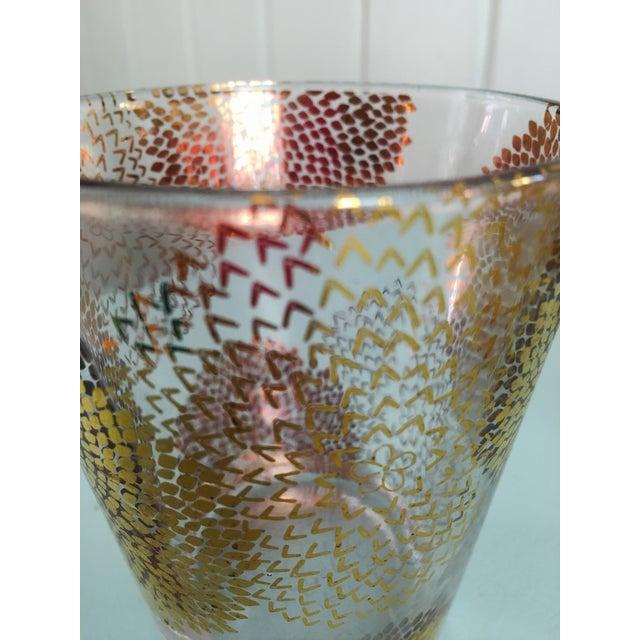 Gold Chrysanthemum Glasses - Set of 4 - Image 6 of 8