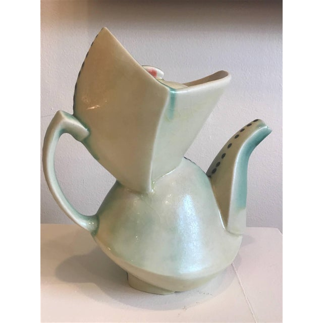 """A noted contemporary Seattle artist/potter has had numerous shows all over the world. Featured on the cover of """"American..."""