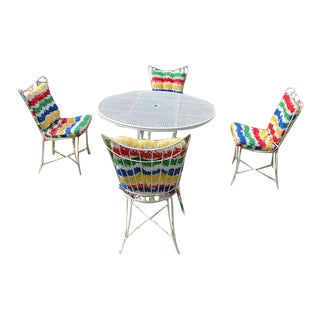 Homecrest Vintage Patio Set- 5 Pieces For Sale