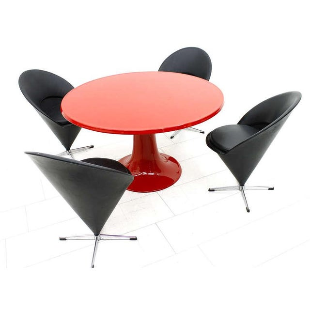 1960s Rare Column Dining Table by Otto Zapf for in Design Germany, 1967 For Sale - Image 5 of 7
