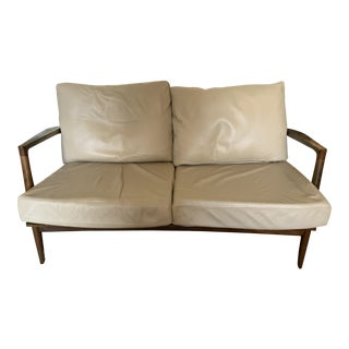 Mid Century Kofod Larsen Danish Loveseat For Sale