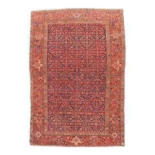 Antique Persian Red Malayer Rug For Sale