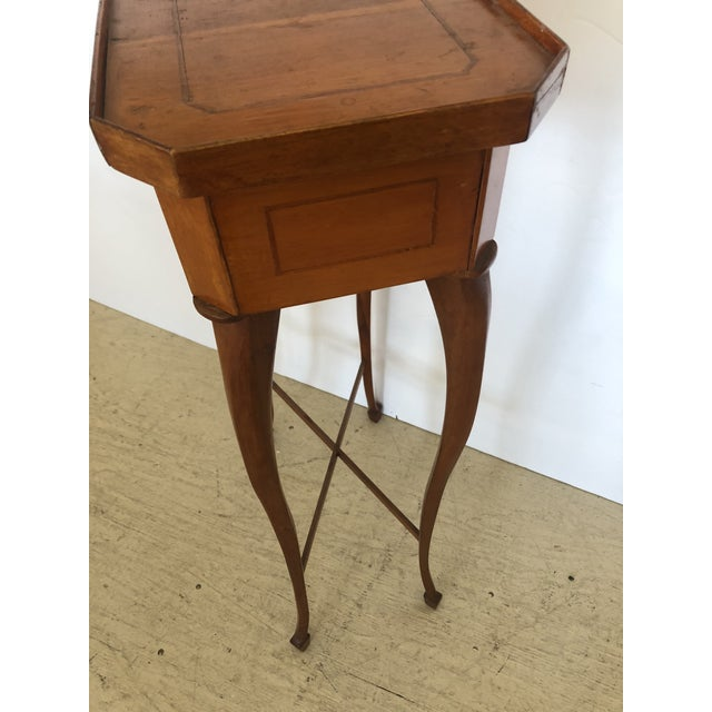 19th Century Biedermeier Side Table or Stand For Sale In Philadelphia - Image 6 of 12
