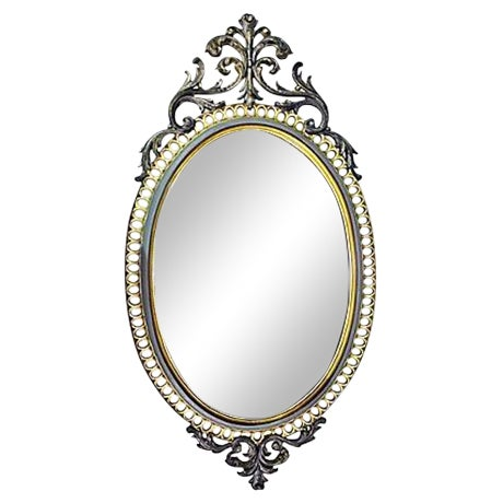 Resin Rococo Mirror For Sale