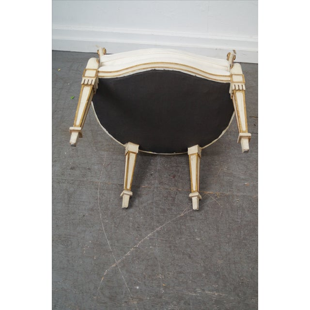 Widdicomb Paint Frame Regency Style Arm Chairs - A Pair - Image 6 of 10