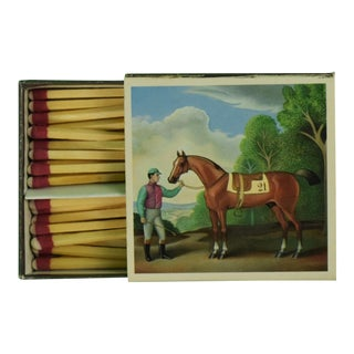 """21"" Club Jockey 'Twin' Match Book For Sale"