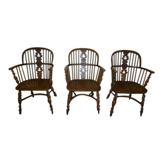 Vintage Conant Ball Colonial Revival Dining Chairs - Set of 3 For Sale
