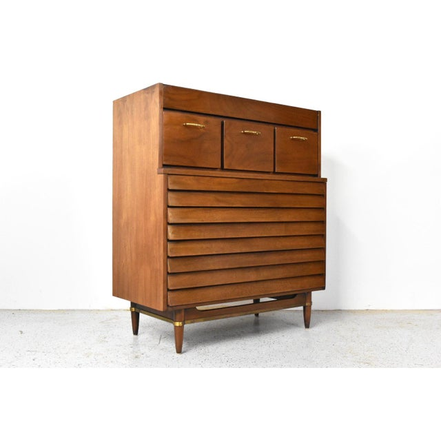 American of Martinsville Dania Highboy Chest - Image 2 of 10