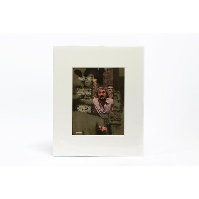 Fiddler on the Roof, 1971 / Original Vintage Movie Advertisement Art Transparency, Pink Version For Sale In Los Angeles - Image 6 of 6