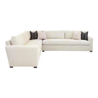 Sherrill Furniture Precedent Modern 3 Piece Sectional For Sale