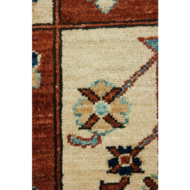 "Traditional Oushak, Hand Knotted Area Rug - 6'8"" X 9'8"" For Sale - Image 3 of 3"