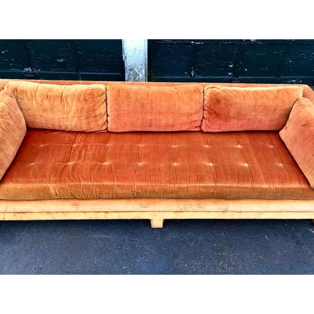 1970s Vintage Mid Century Erwin Lambeth Sofa For Sale - Image 5 of 13