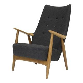 Hans Wegner High-back Lounge Chair For Sale