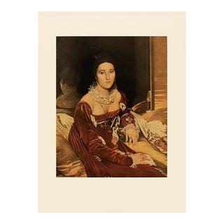 "1951 Ingres ""Madame De Senonnes"", First Edition Neoclassical Parisian Photogravure For Sale"