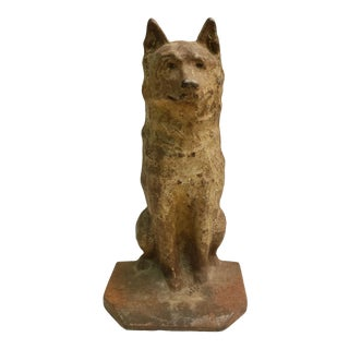 1924 Balto the Husky Dog Doorstop For Sale