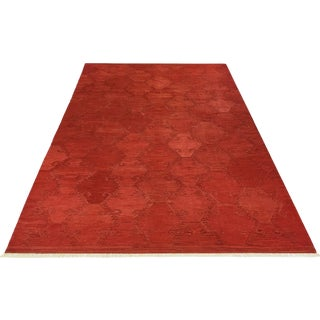 Rug & Relic Red Turkish Kilim | 10 X 14
