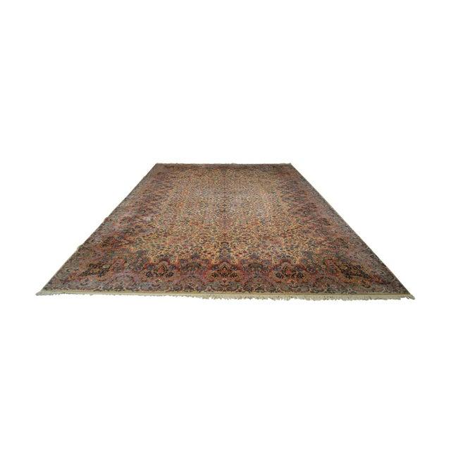 Karastan 10'x16' Kirman Vintage Large Room Size Carpet Rug #759 For Sale - Image 13 of 13