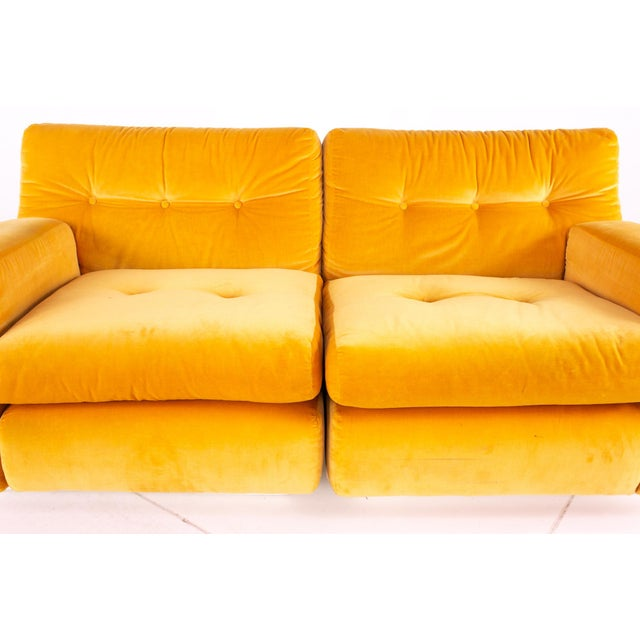 Founders Furniture Company Jack Cartwright for Founders Mid Century Sectional Fiberglass Sofa For Sale - Image 4 of 13