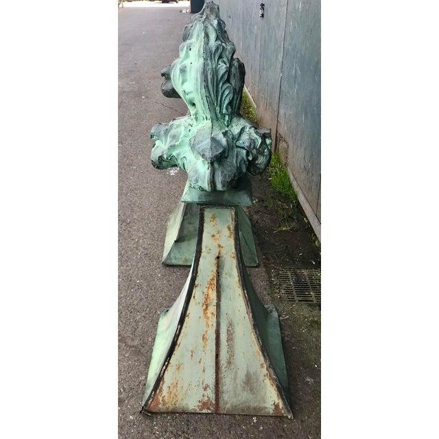 Gothic French fleur-de-lis Finials For Sale - Image 3 of 8