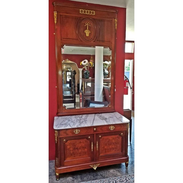 19c French Louis XVI Style Complete Bedroom Set For Sale - Image 9 of 12
