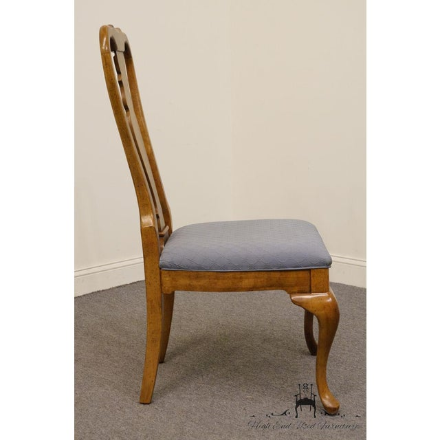 Late 20th Century Vintage American of Martinsville Queen Anne Style Dining Chair For Sale In Kansas City - Image 6 of 9