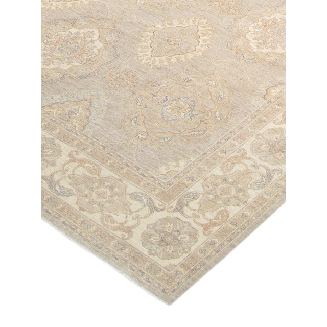 """Afghan Pasargad Ferehan Area Rug - 10'1"""" X 13'9"""" For Sale - Image 3 of 4"""