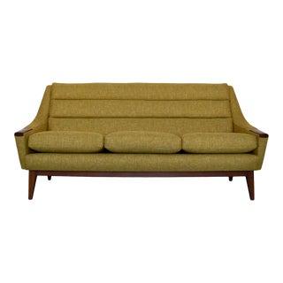 Mid-Century Danish Modern Restored Sofa For Sale