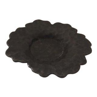 Hammered Cast Iron Trinket Bowl