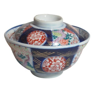 Imari Covered Bowl For Sale