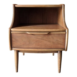 Mid Century Single Nightstand by Kent Coffey from the Cadence series