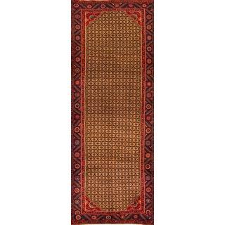 "Mid-20th Century Vintage Persian Hamadan Rug, 3'4"" X 9'4"" For Sale"