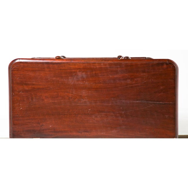 19th Century English Victorian Mahogany Chest For Sale - Image 9 of 9