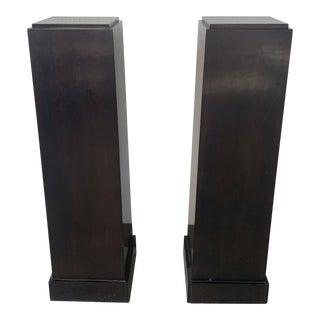 Vintage Mid Century Pedestals- A Pair For Sale