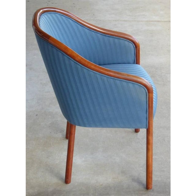 Walnut Banker Chairs by Ward Bennett for Brickel - Image 7 of 10