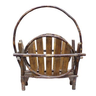 Rustic Magazine Rack For Sale