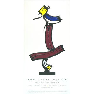 Brushstroke Collage Poster by Roy Lichtenstein