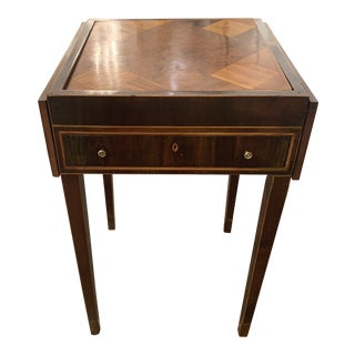 19th Century Traditional Mahogany Game Table For Sale